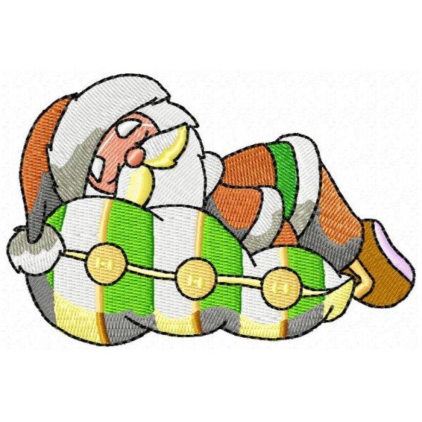 Papai Noel Dormindo
