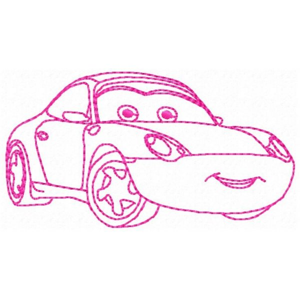 Redwork Carros 2