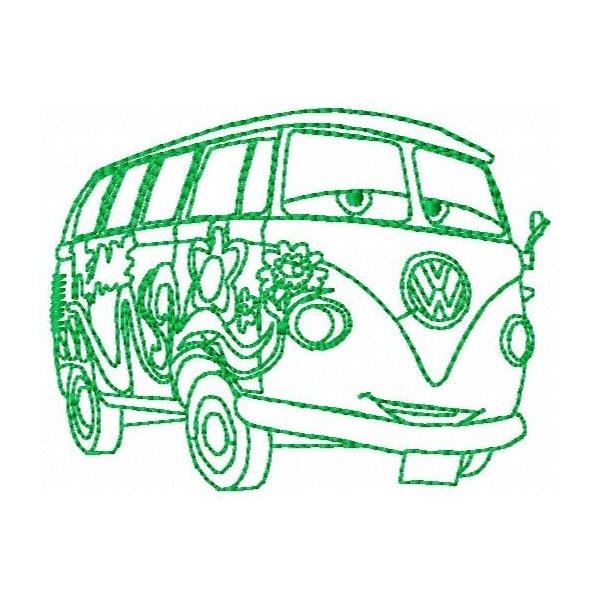 Redwork Carros 4