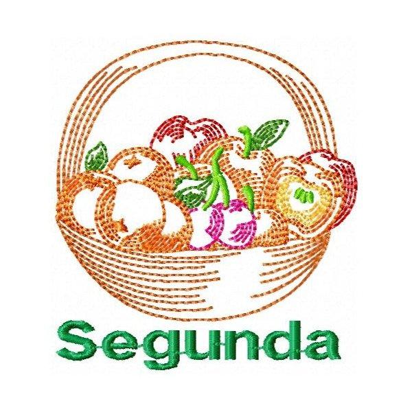 Semaninha Cesta De Frutas