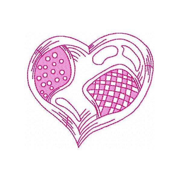 Coração Colorwork 1