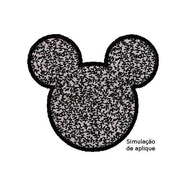 Mickey Silhueta Aplique 1