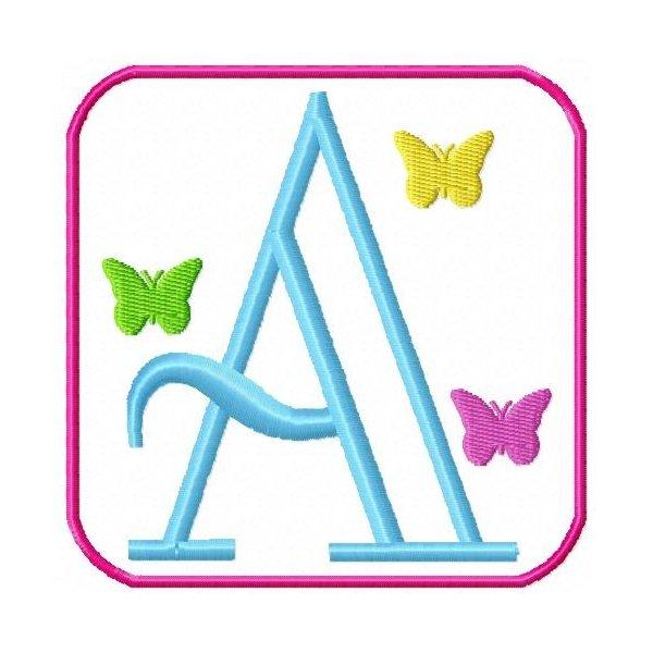 Alfabeto Borboletas