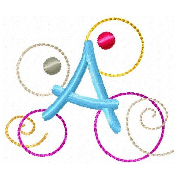 Alfabeto Circulos