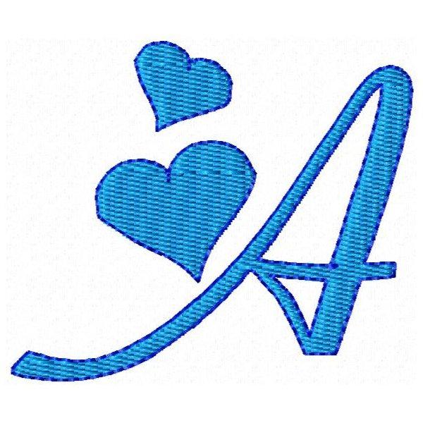 Alfabeto Corações