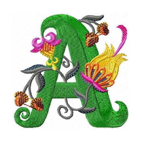 Alfabeto Exotic