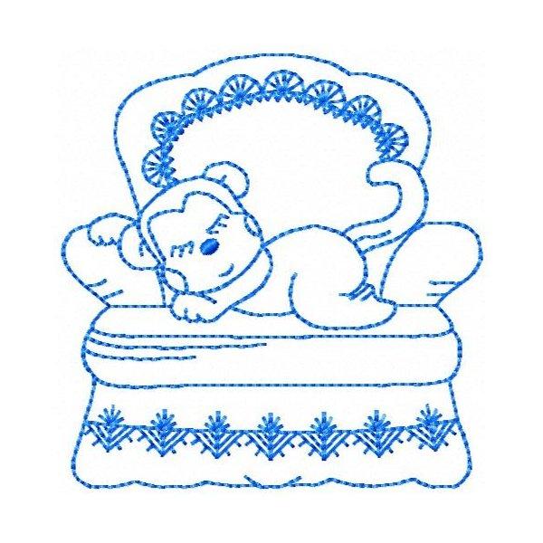 Sofá Baby Redwork