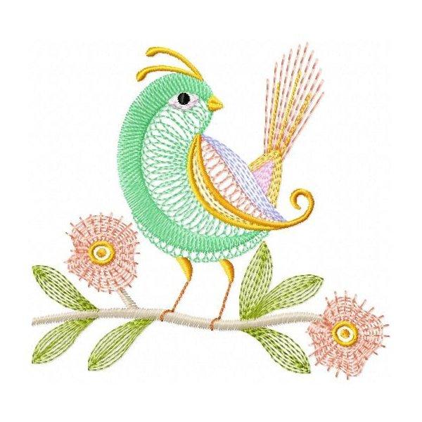 Pássaros Neon 001