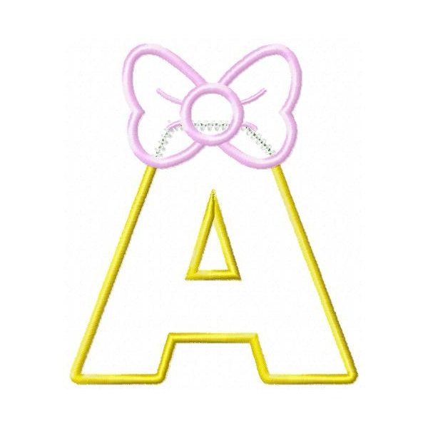Alfabeto Lady Aplique