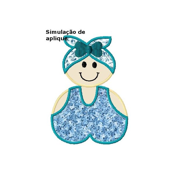 Baianinha Aplique 1