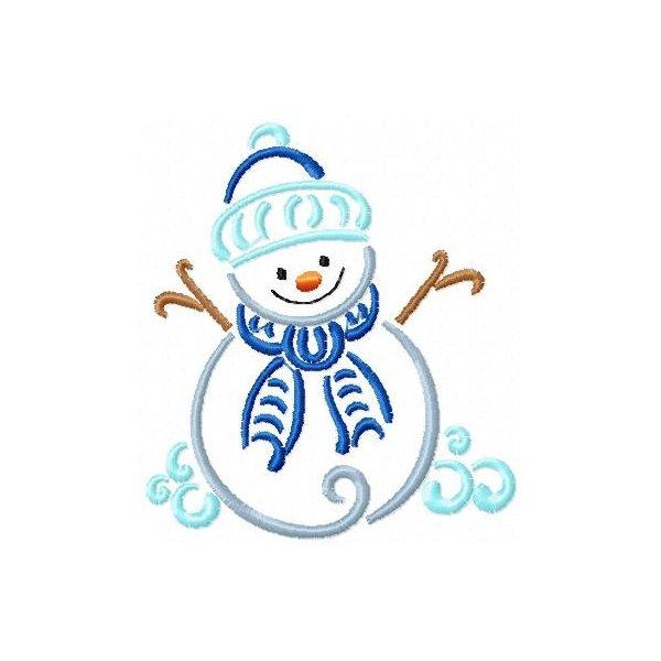 Boneco de Neve Rabisco 1