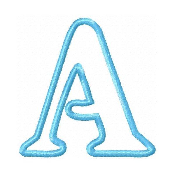 Alfabeto Happy Aplique