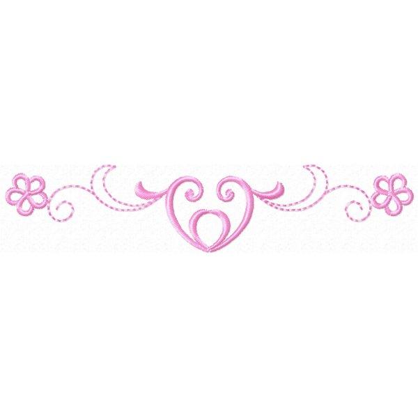 Barrinha Ornamental Heart