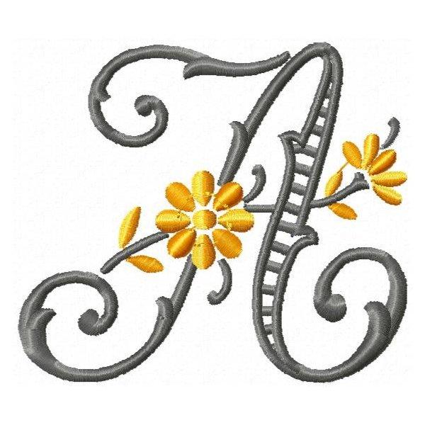 Alfabeto Florido Rechilieu