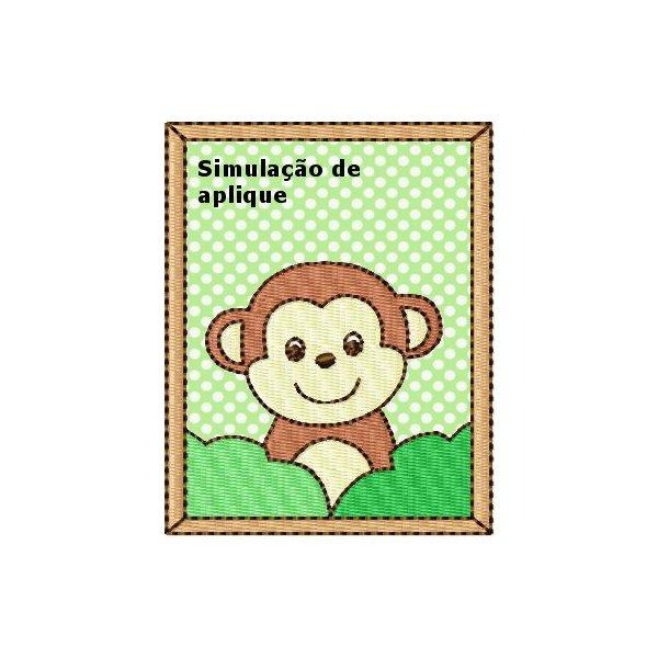 Selva Aplique Macaco