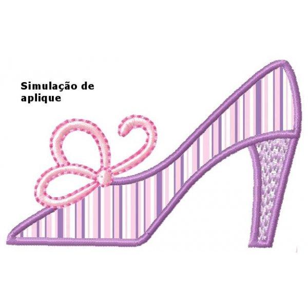 Sapato Feminino 1 Aplique