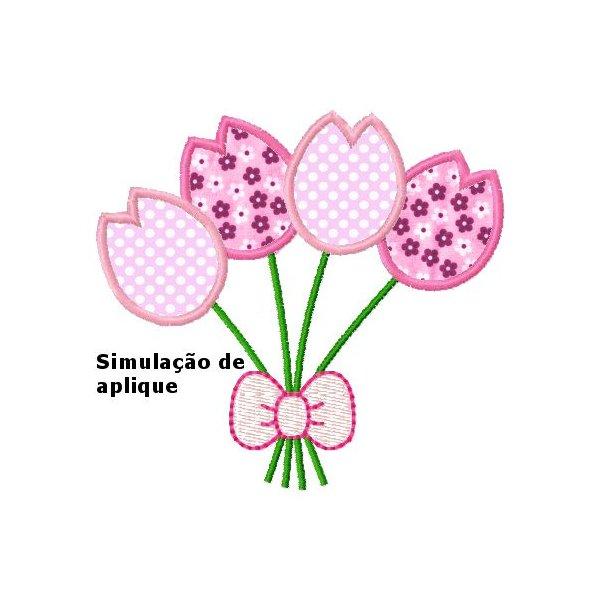 Tulipa Aplique 1
