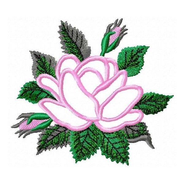 Rosas Vivaly Aplique
