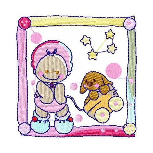 Bebê Moldura
