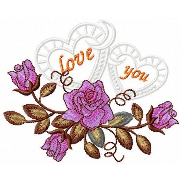 Floral Rosa Lilás