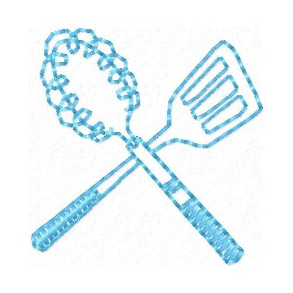 Minimatrizes Cozinha Ivone Redwork