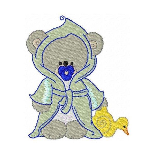Urso Hora Do Banho