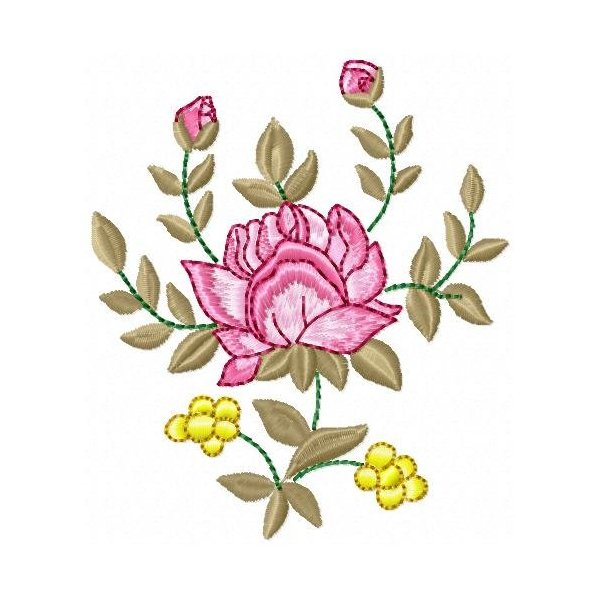 Floral Rosê 001