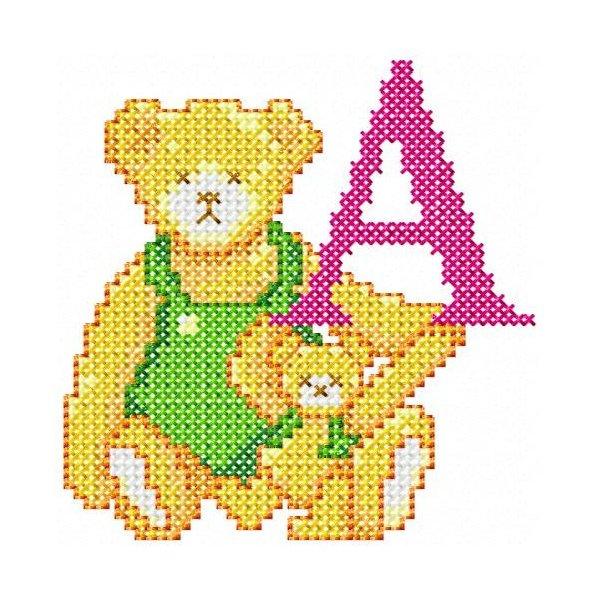 Alfabeto Urso Ponto Cruz