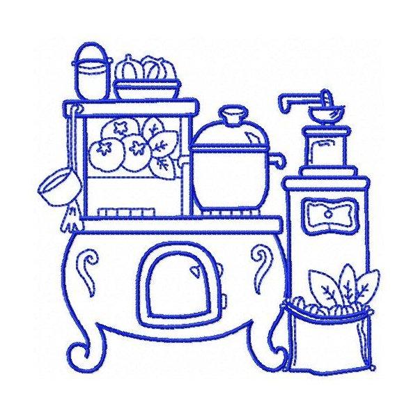 Cozinha Fogão a Lenha