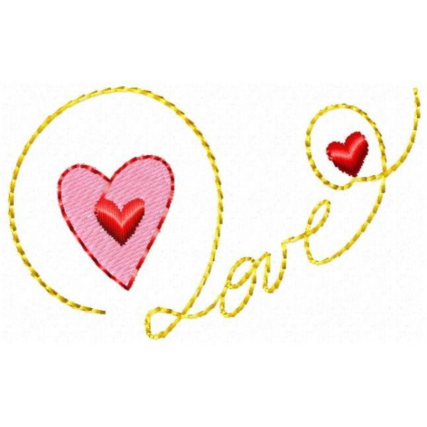 Escrita Love 1