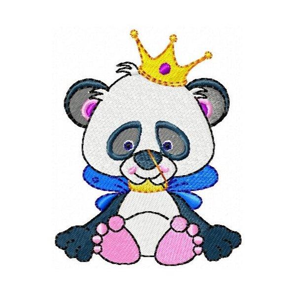 Urso Panda Rei