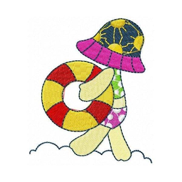 Bonnet Dia De Praia