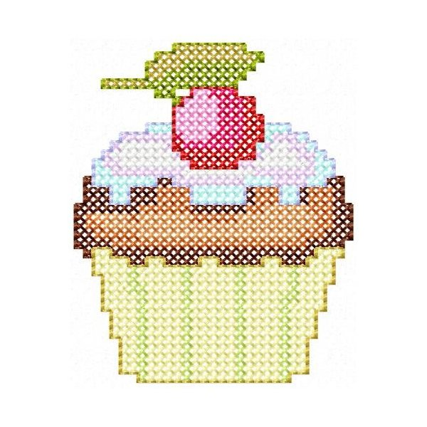 Cupcake Ponto Cruz