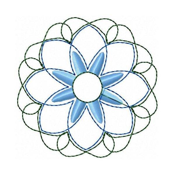 Quilt Flower 01