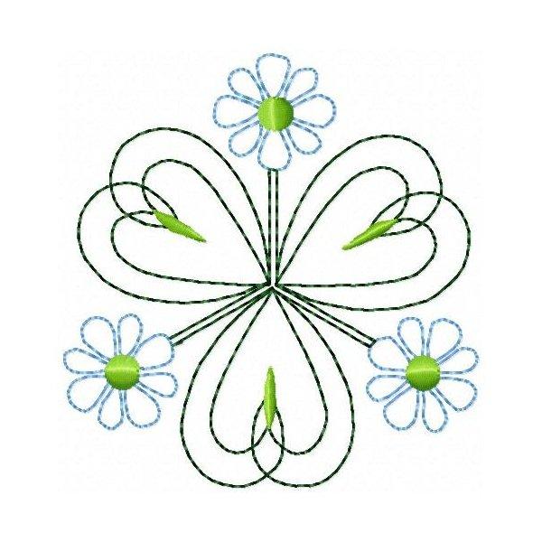 Quilt Flower 02