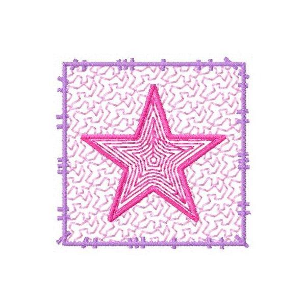Moldura Estrela Vazada Pequena