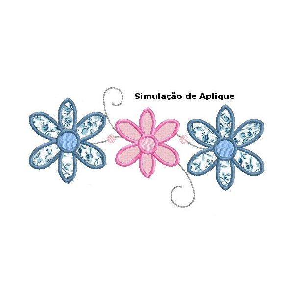 Floral 14 Aplique