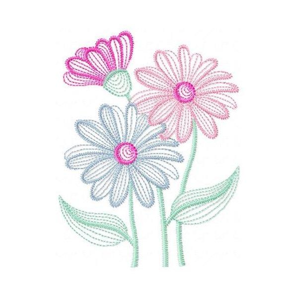 Neon Floral Design 01