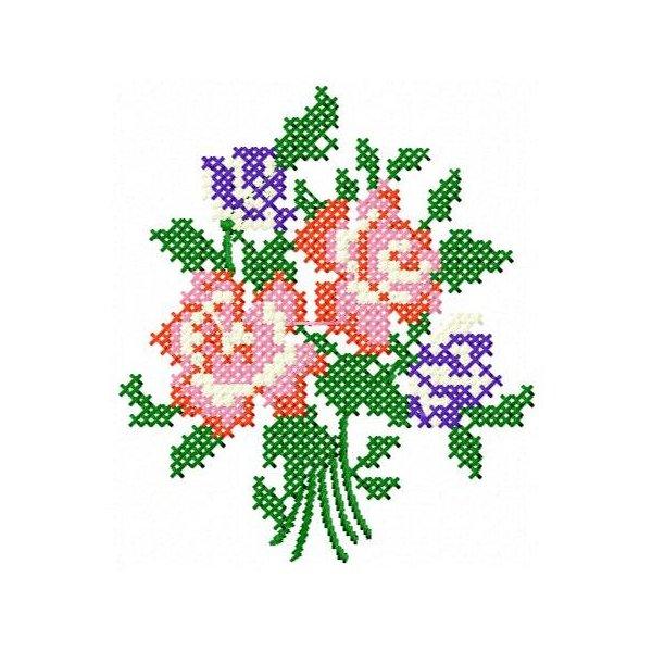 Floral Ponto Cruz 2