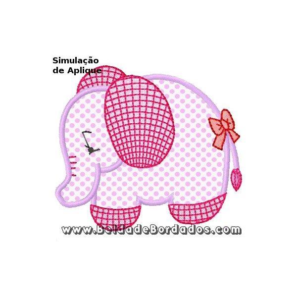 Elefante Aplique 1