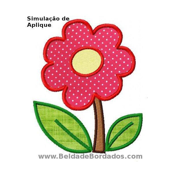 Floral 20 Aplique