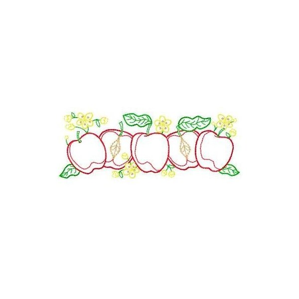 Cozinha Frutas Color Grande