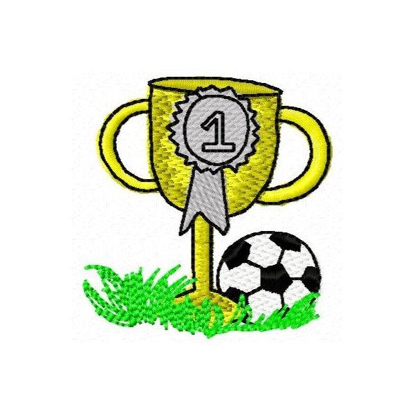 Futebol 2 Bola e Troféu