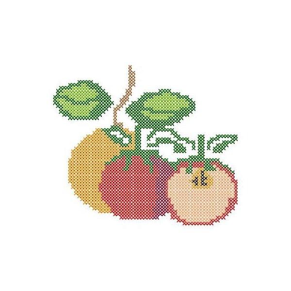 Fruta Ponto Cruz 2