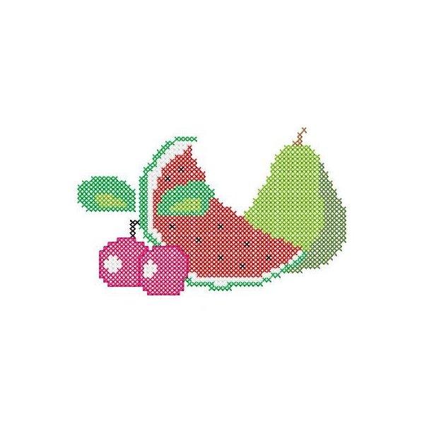 Fruta Ponto Cruz 3