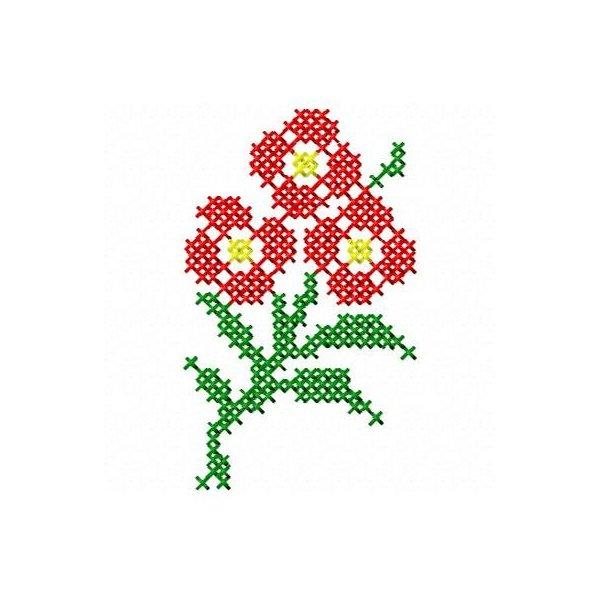 Floral Ponto Cruz 5