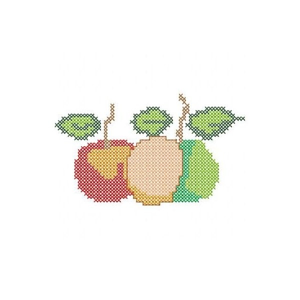 Fruta Ponto Cruz 1
