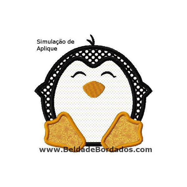 Pinguim Aplique 1
