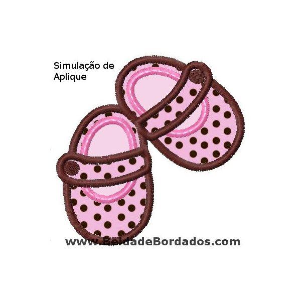 Sapatinho Baby 1 Aplique