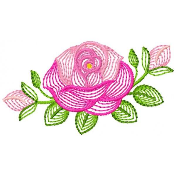 Floral Neon Rosalina 01